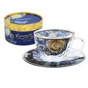 """Բաժակ և ափսե """"Van Gogh Starry Night"""""""
