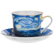 """Բաժակ Ափսե """"Starry Night Van Gogh"""""""